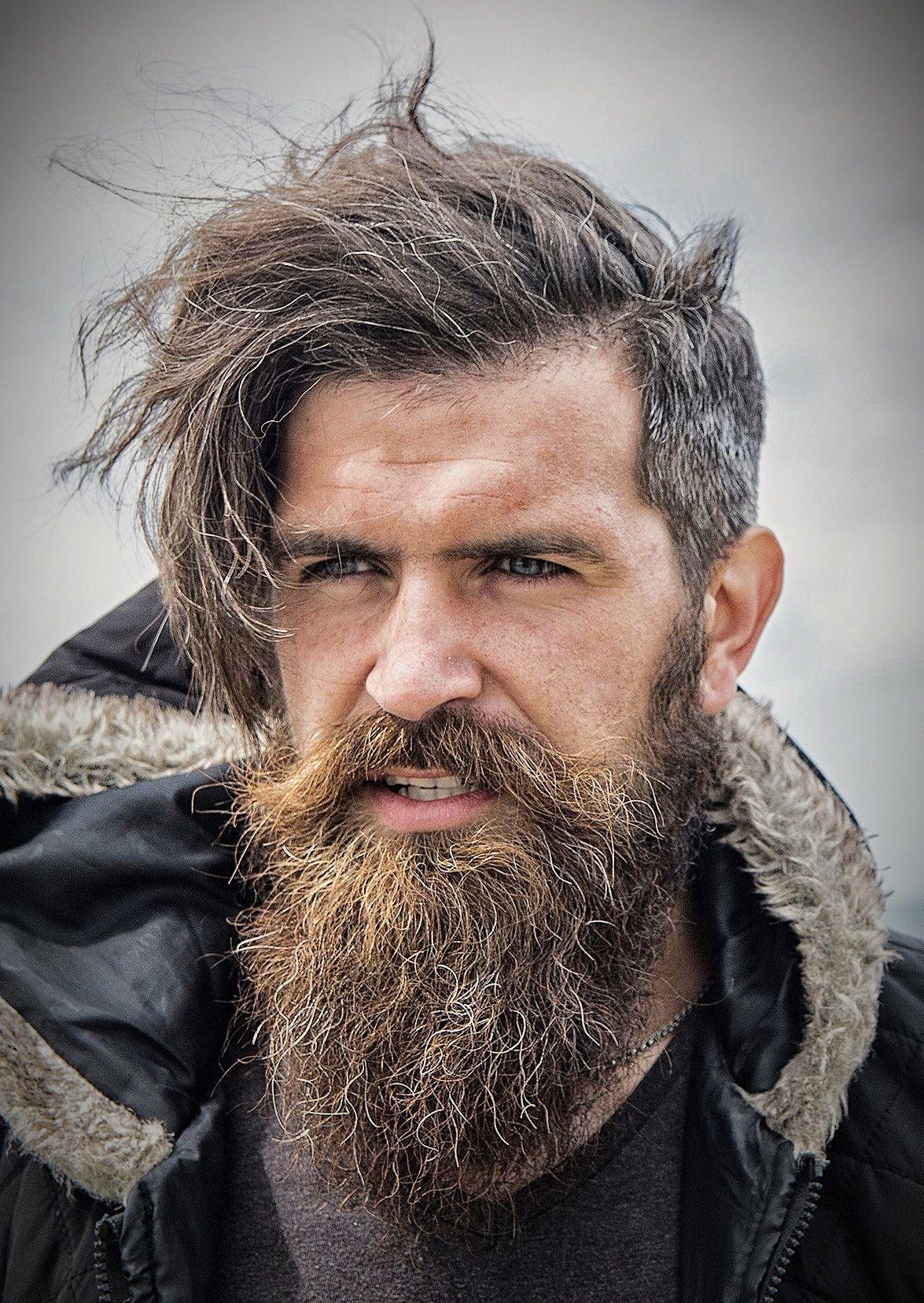 Haircuts for big foreheads men pin by bojan trobec on beard all over the world  pinterest  beard