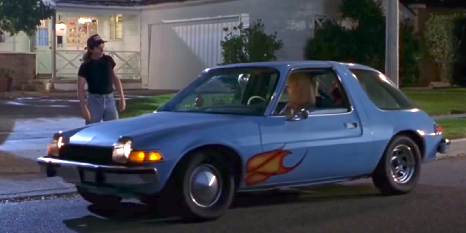 The Amc Pacer Used In Wayne S World Sold For 37 400 Wayne S