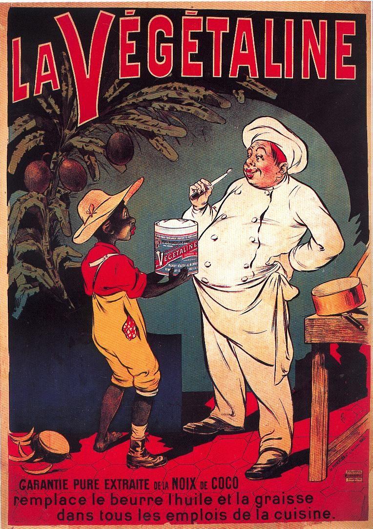 La Végétaline, affiche litho, 1910 | Vintage Advertising | Pinterest