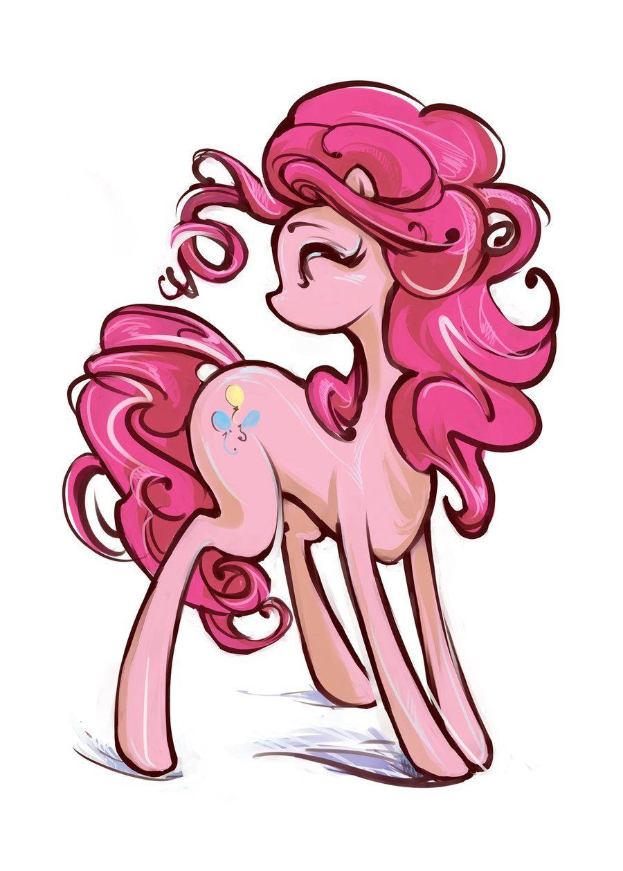 Pinkie Pie Art Mylittlepony Pinkie Pie Pony Pony Drawing