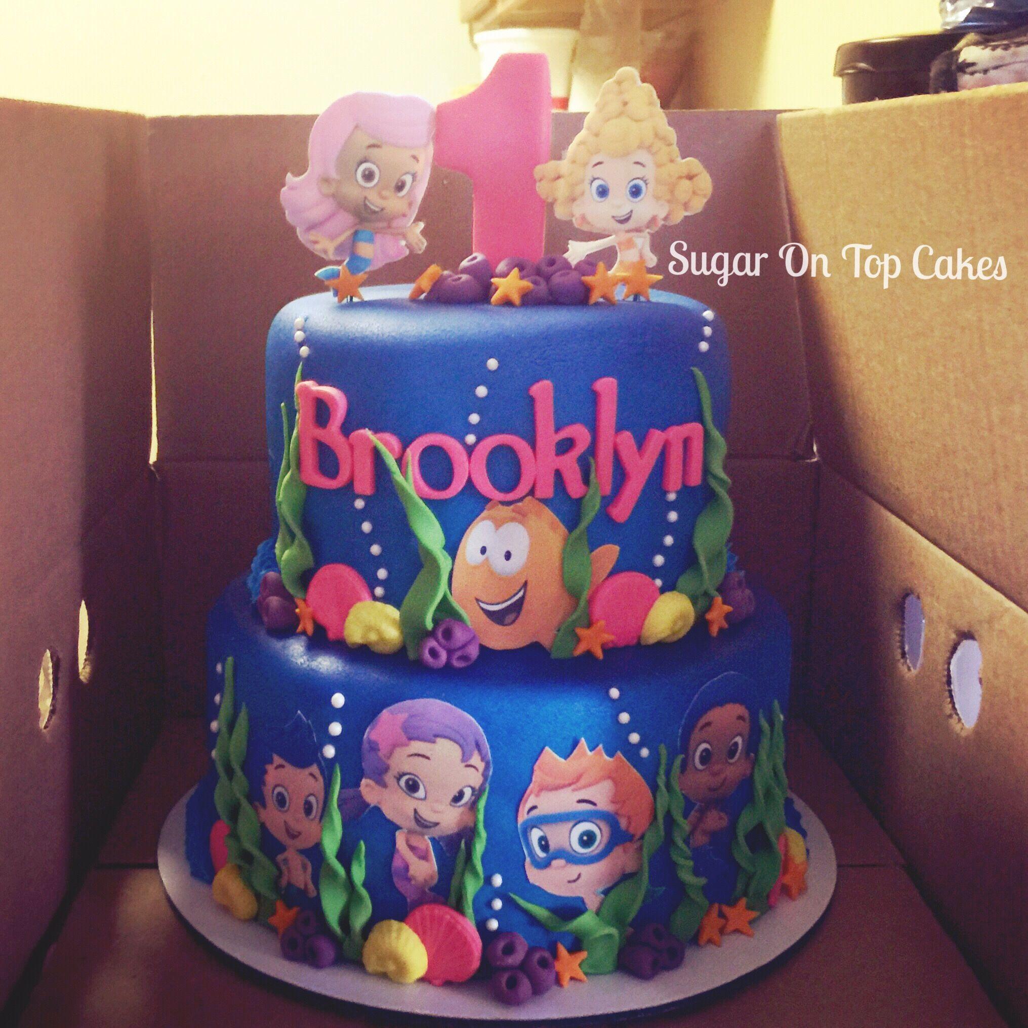 Bubble Guppies Cake Facebook Sugarontopcakes