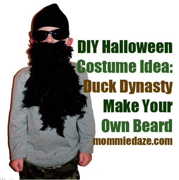 Halloween Costume Idea Duck Dynasty Duck dynasty, Halloween - halloween costumes with beards ideas