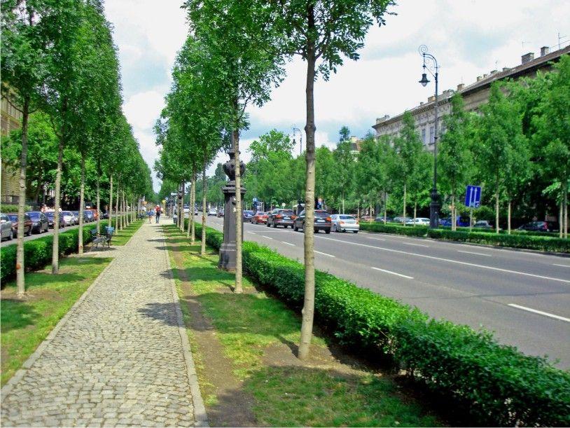 Andrassy Avenue, Budapest, Hungary.