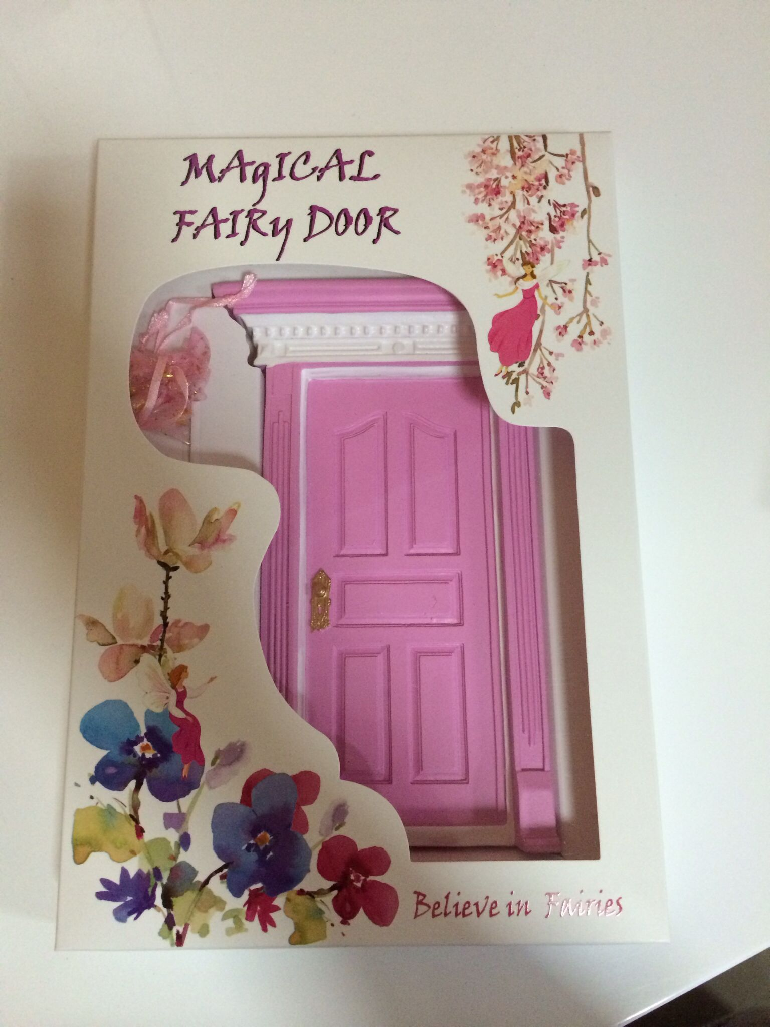 I believe in fairies...do you? Gorgeous fairy doors available now