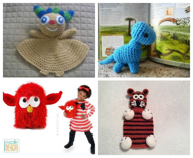 Crochet Toys: FREE, Cute & Cuddly Patterns to Download | Pelirrojas ...
