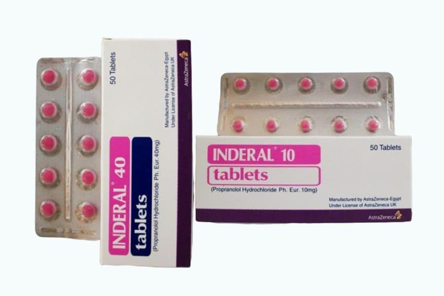 اسم الدواء اندرال المادة الفعالة بروبرانولول نوع الدواء لعلاج ارتفاع ضغط الدم والذبحة الصدرية ومشاكل القلب والأوعية الدموية شكل الدواء أقراص Tablet 10 Things