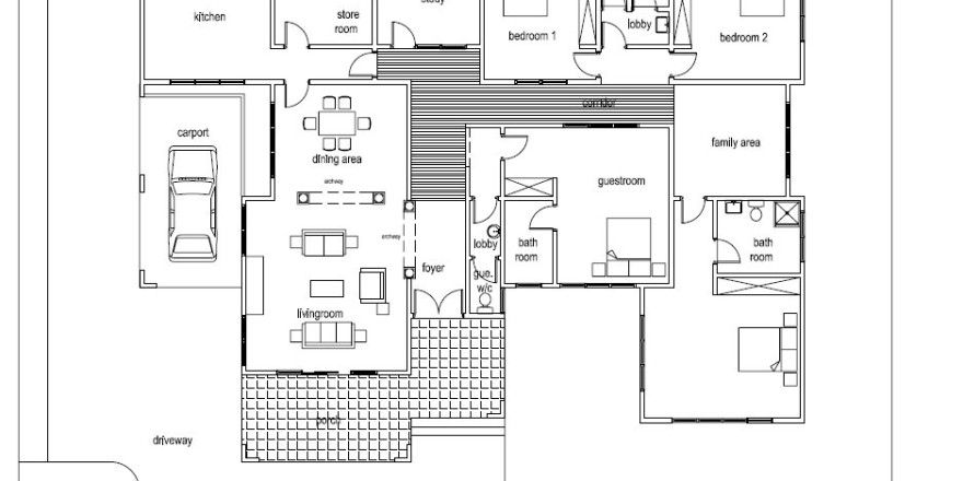 Design Your Own House Asafoatse Home Plan 1 397 Usd House Plans Design Your Own Home Dream House Plans