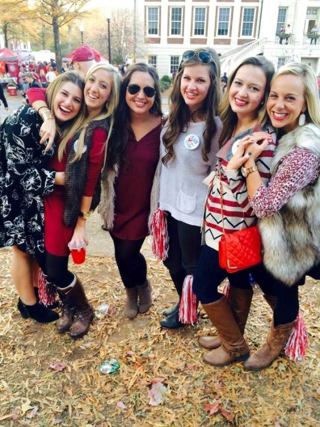 Top 12 Game Day Outfits At The University Of Alabama Society19