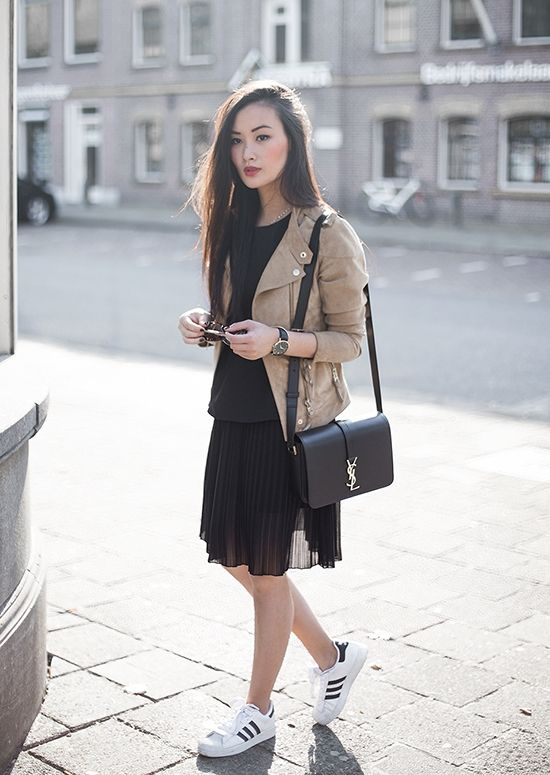 how to style adidas superstar