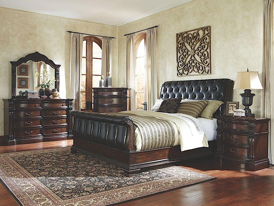 Churchill Queen Bedroom Set: Rothman Furniture