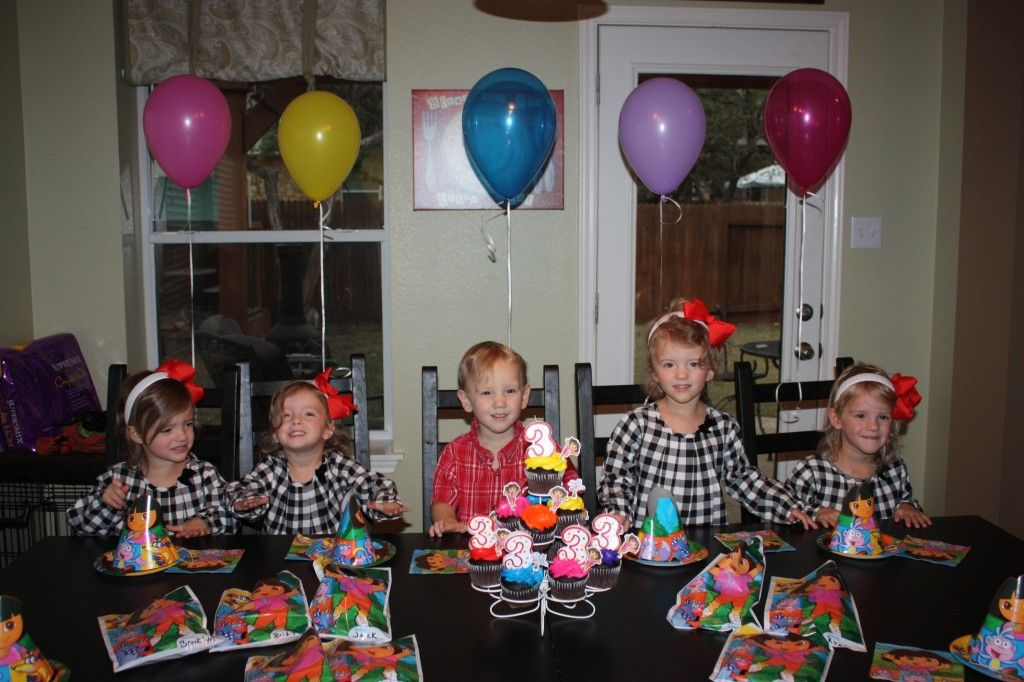 The Fab Five Turns Three Multiple Births Surprise Baby Jones