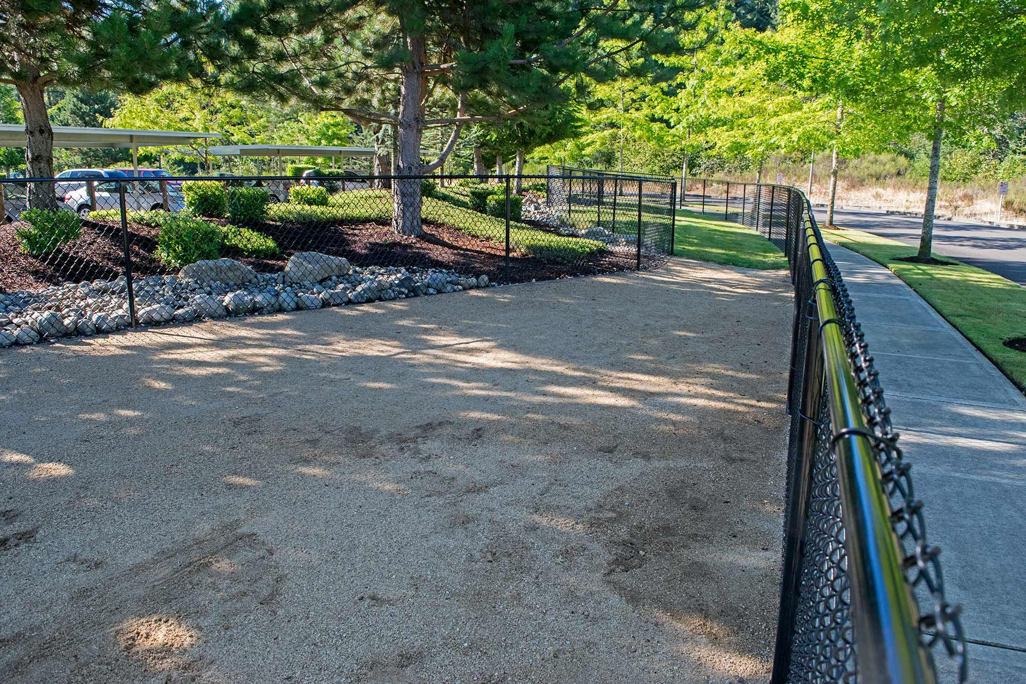 Pet Fence And Exercise Area In Dupont