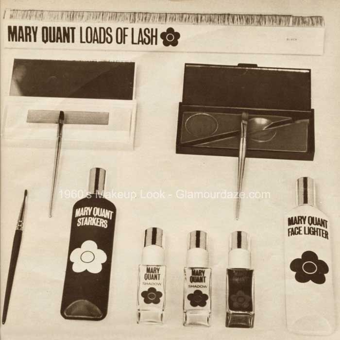 Concise History Of 1960s Makeup Mary Quant 1960s Makeup