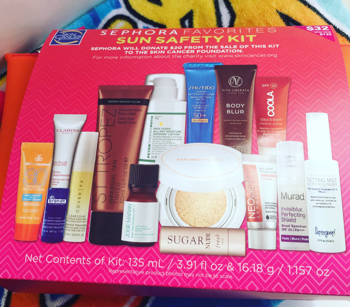 Sephora Sun Safety Kit 2017 FULL SPOILERS In Stores Now