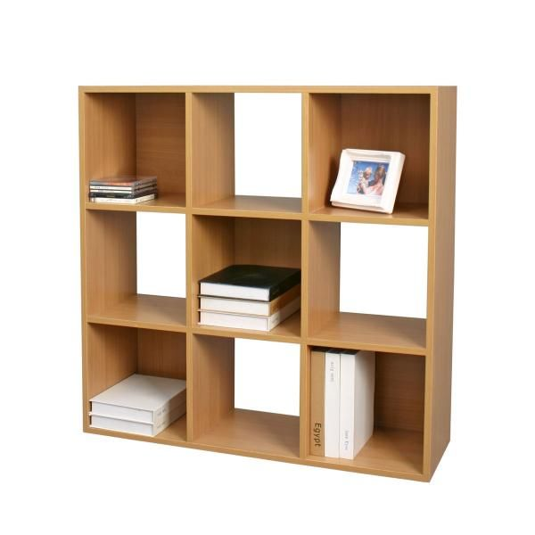 Square Decorative Shelf - Beech Look | Bookcases & Shelves | Great Gifts at  Deals Direct
