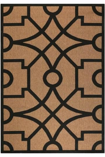 Fretwork Rug. HomeDecorators.com #outdoor2013