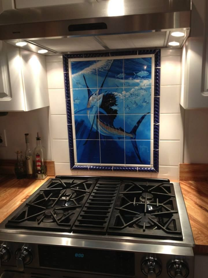 Kitchen Tiles Guy Harvey Curated By Modern Paint