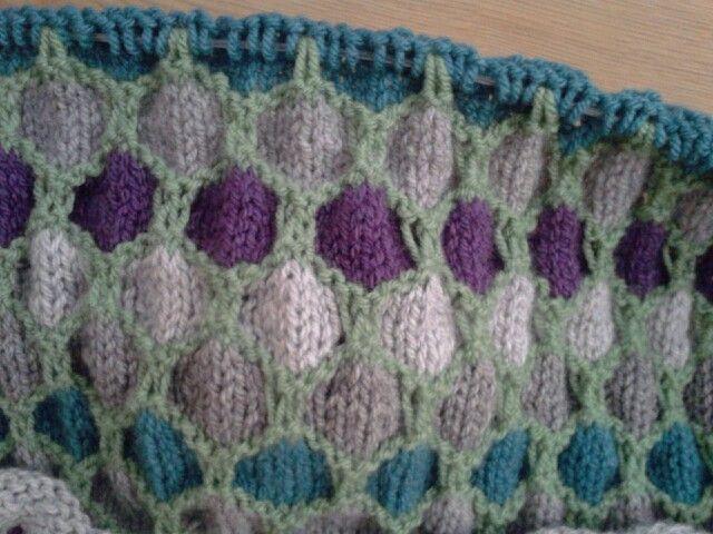 Honeycomb knitting pattern | Knitting inspiration ...