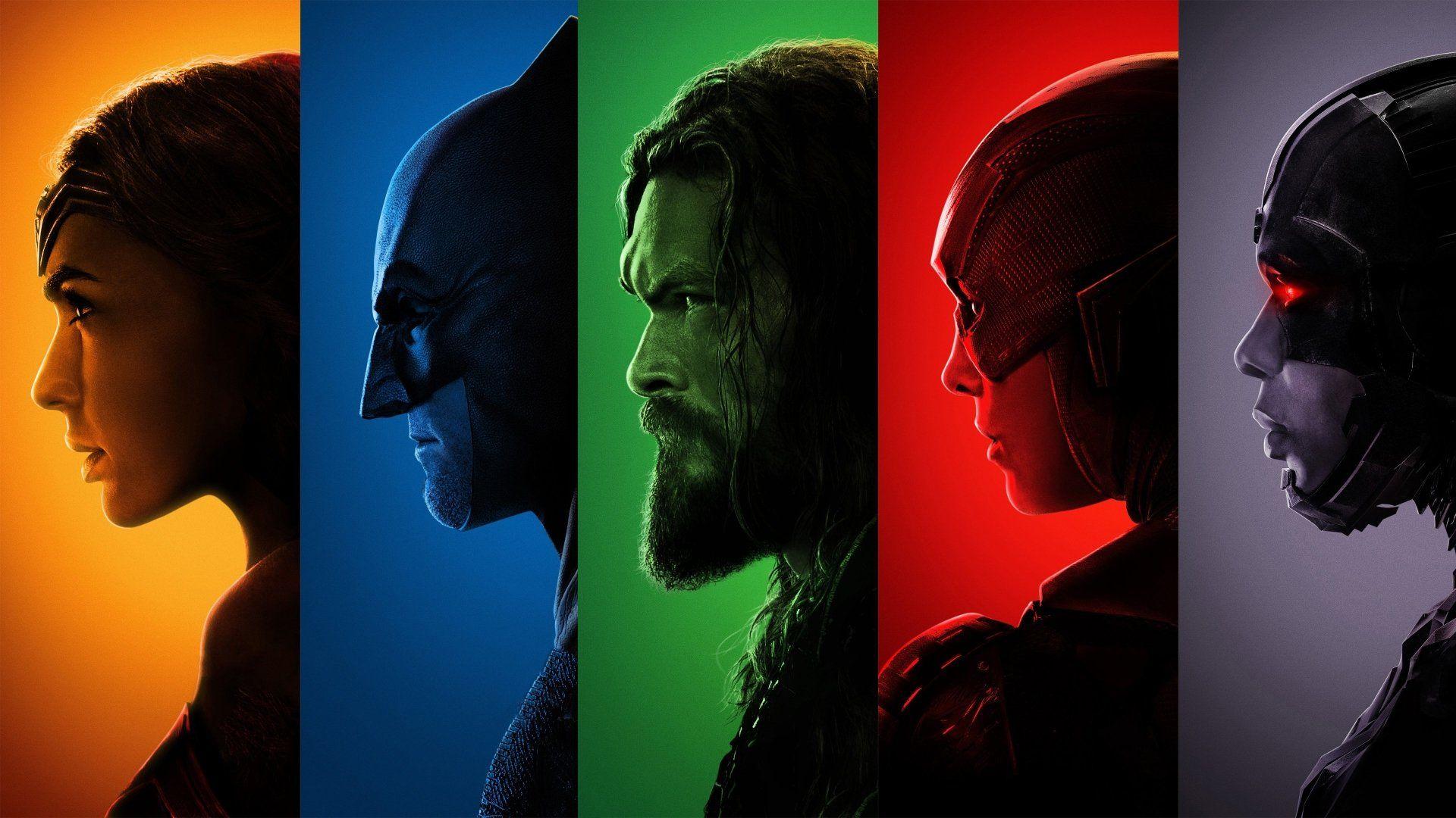 Películas Justice League (2017) Mujer Maravilla Gal Gadot Batman Aquaman Flash  Cyborg (DC Comics) F… | Liga de la justicia, Justice league, Peliculas en  castellano