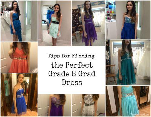 Medium to long dresses 8 grade