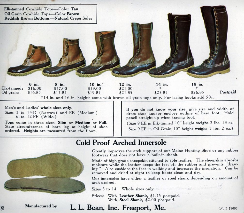 L L Bean Maine Hunting Shoe Often Imitated But Never Duplicated Ll Bean Duck Boots Boots Duck Boots