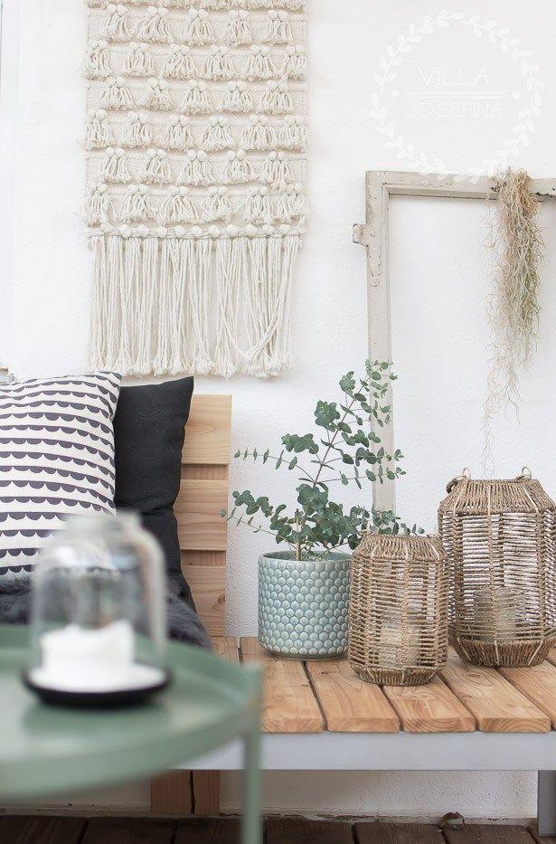 Terrassen Lounge selber bauen Holzdielen, Lärchenholz und Lounge
