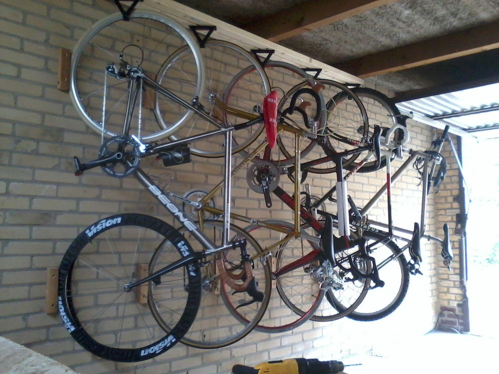 afbeelding garage pinterest garage indeling fiets