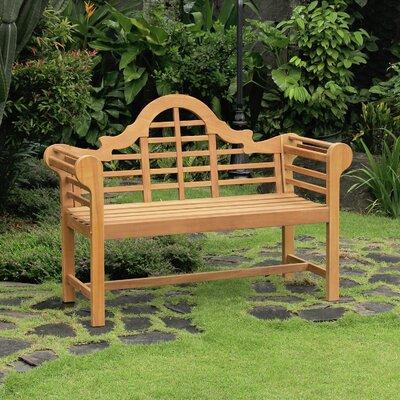 Excellent Fullrich Industries Brighton Teak Garden Bench In 2019 Machost Co Dining Chair Design Ideas Machostcouk