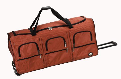 bbf3e4e321 Rockland Luggage 40 Inch Rolling Duffle Bag