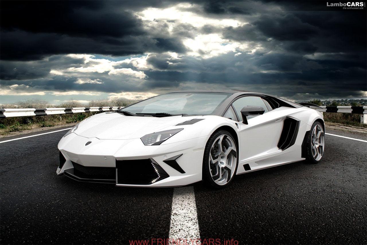 Nice Lamborghini Aventador White And Black Image Hd HD Wallpaper 1920 1080 Hot