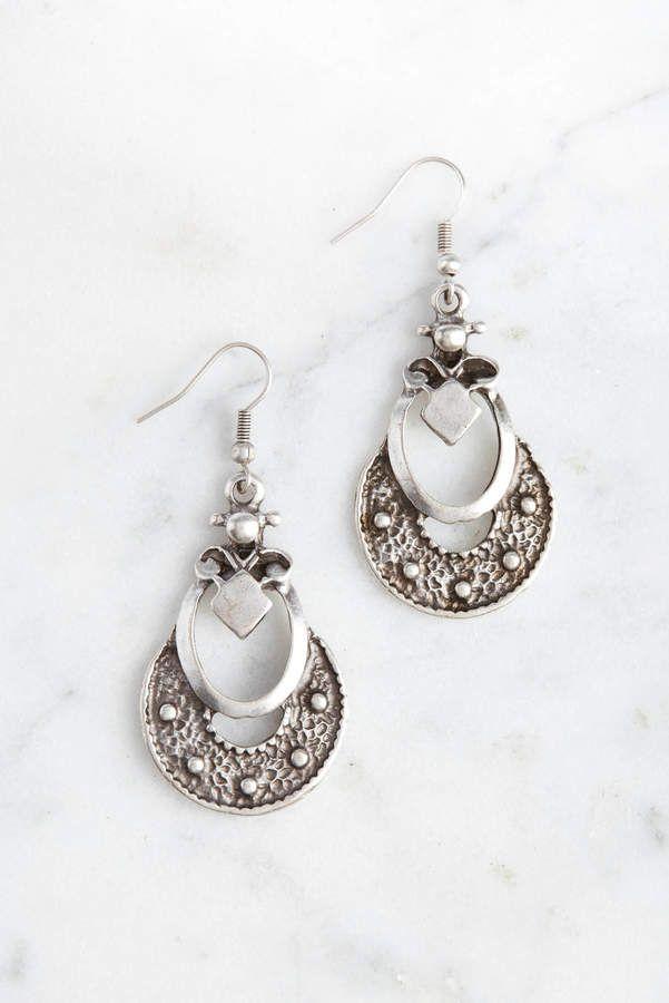 bbd429352c575 Chanour Pewter Boho Earrings #earrings#style#design | Fashion Design ...