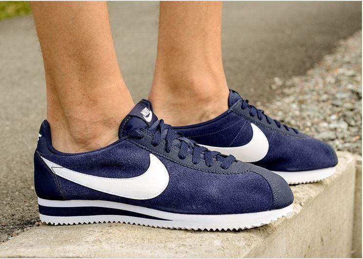 more photos 7a041 aa710 Nike Cortez Suede  Navy