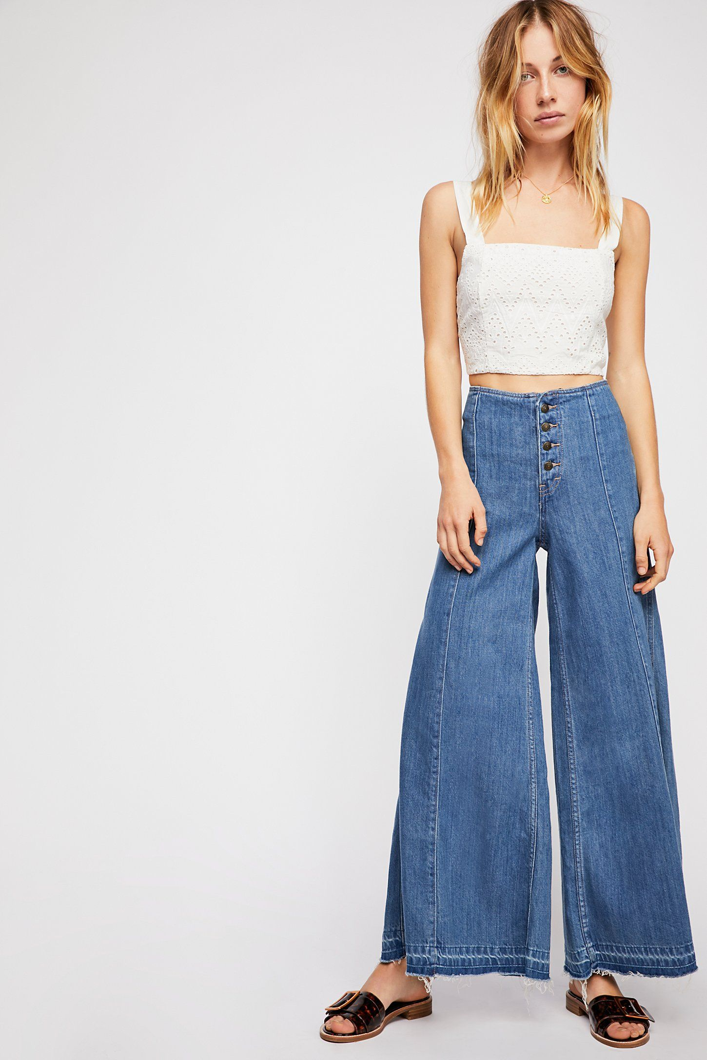 26a450870768 Extreme Wide-Leg Jeans