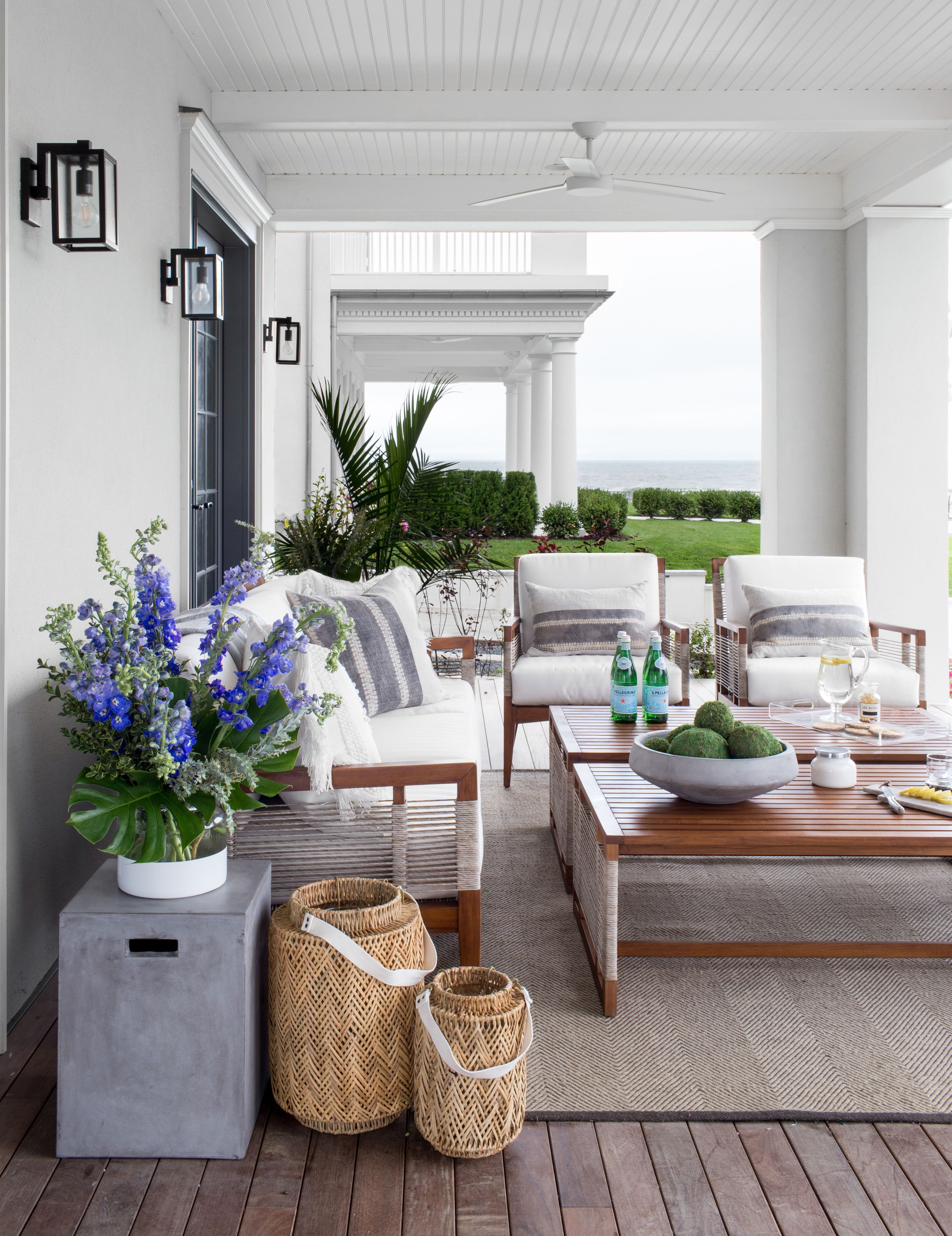 A Beachside Mediterranean Style Summer Home In Allenhurst Nj