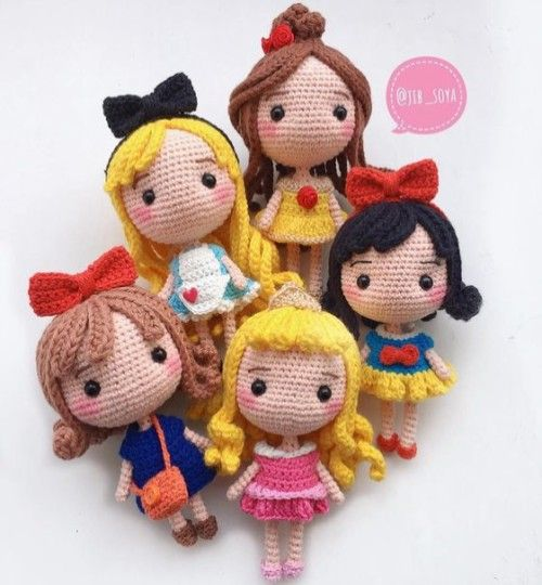 Disney Princess Free Crochet Pattern Beautiful Skills Crochet