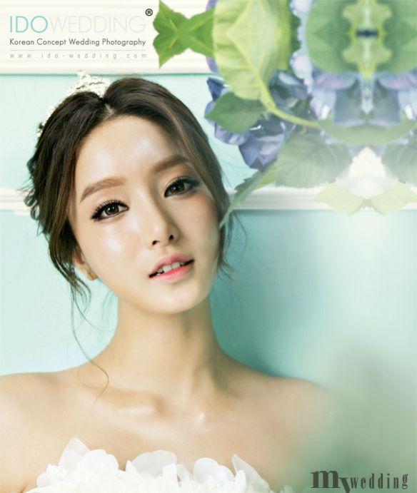 Korean Bridal Makeup 2018 : Korean Bridal Makeup Makeup Pinterest Bridal makeup ...