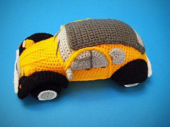 Amigurumi Minion Tarifi : Amigurumi 2cv inspired french classic car crochet pattern pdf