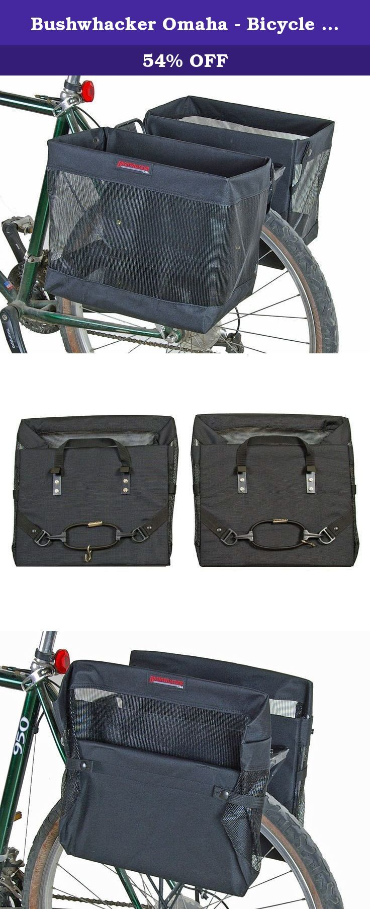 Bushwhacker Omaha Bicycle Grocery Pannier Cycling Rack Basket