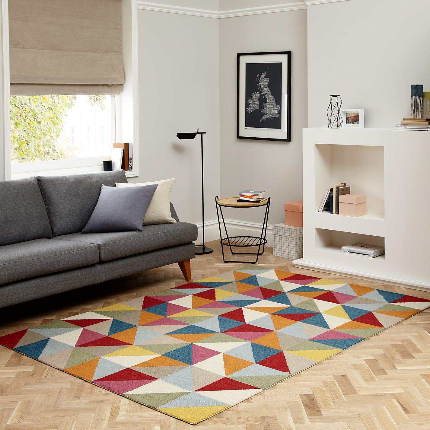 Buy John Lewis Kaleidoscope Rug, Multi | John Lewis | Home ...