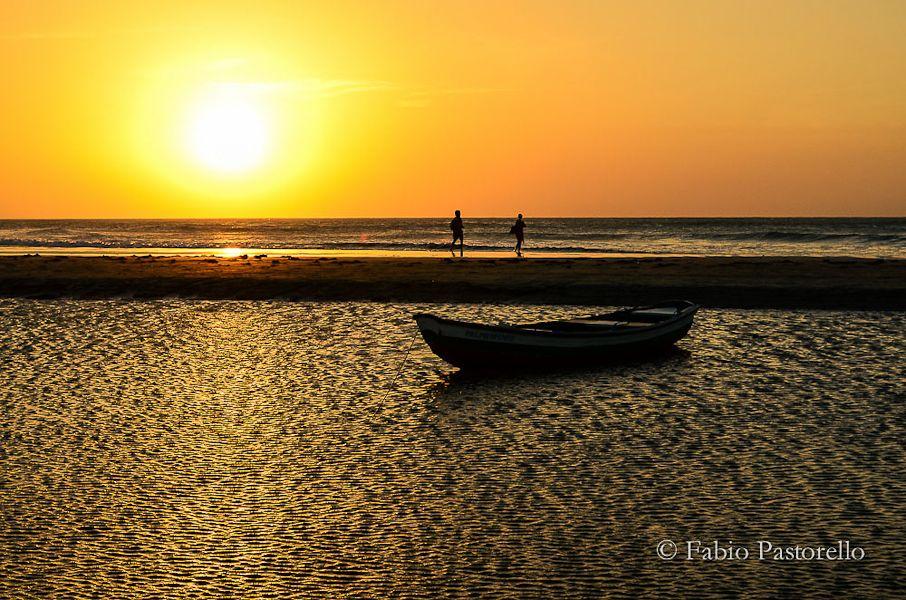 Pôr do sol em Jericoacoara. Foto: Fábio - Viagens Cinematográficas.