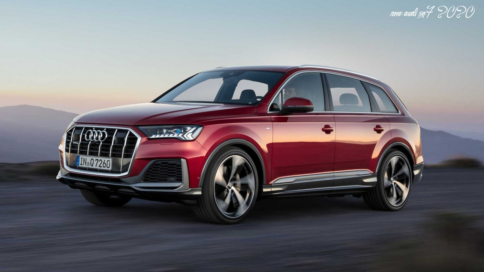 The 2020 Audi Sq7 Takes Audi S Award Winning Q7 Midsize Luxury Suv And Amplifies It With A 4 0 Liter Tfsi V8 Engine Producing Up To 500 H 2020 Audi Luxury Suv Suv
