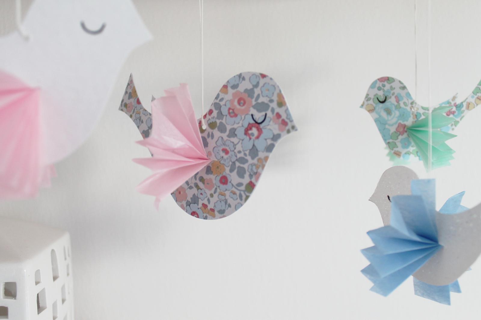Skabelon til julefugl – Julepynt | DIY | denkreativesky