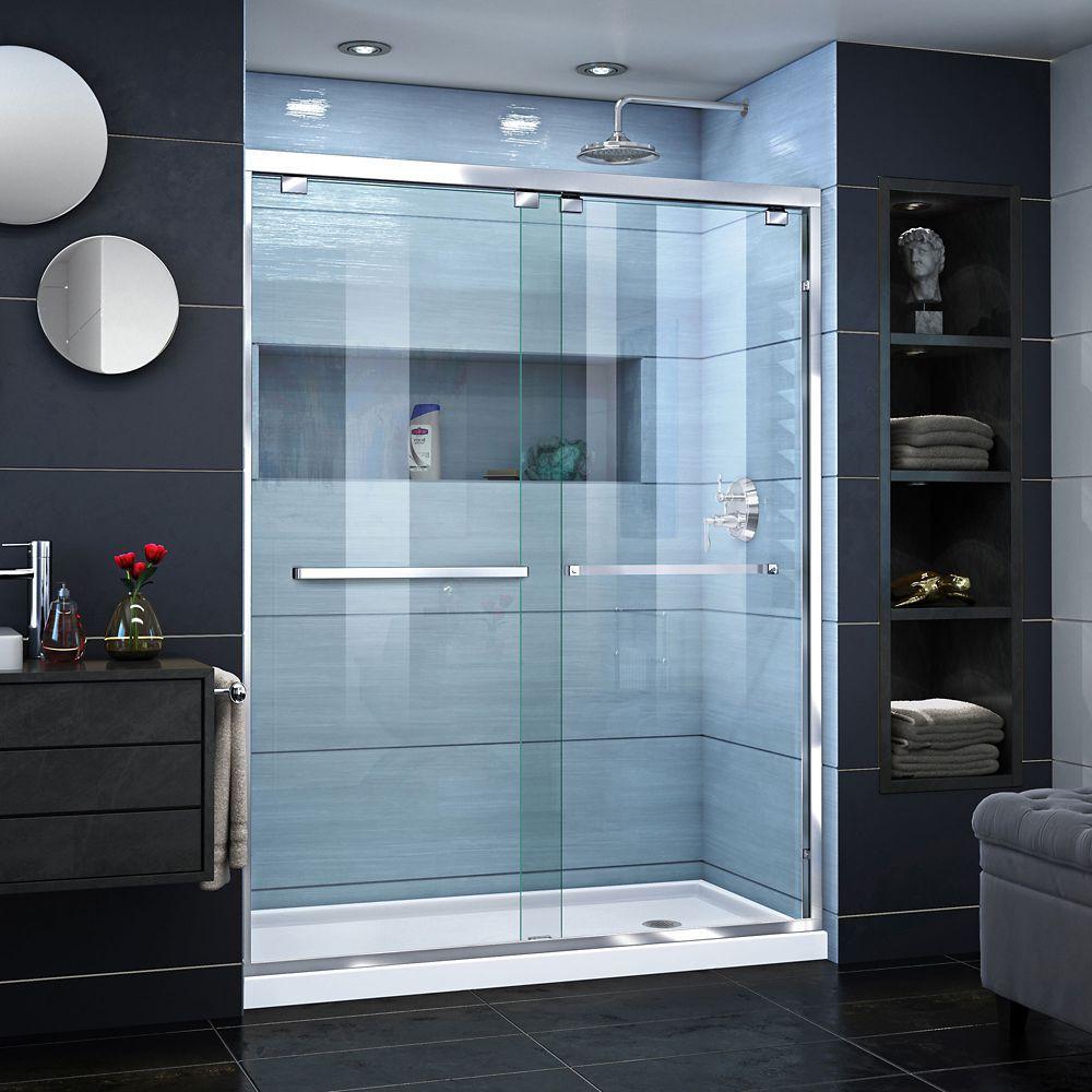 Unidoor X 36 3 8 Inch X 34 Inch X 72 Inch Frameless Hinged Shower