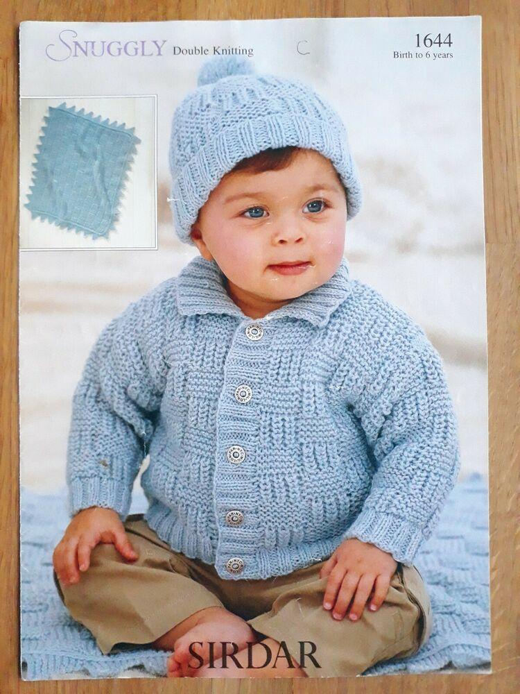 Sirdar 1644 knitting pattern baby, toddler & child DK ...