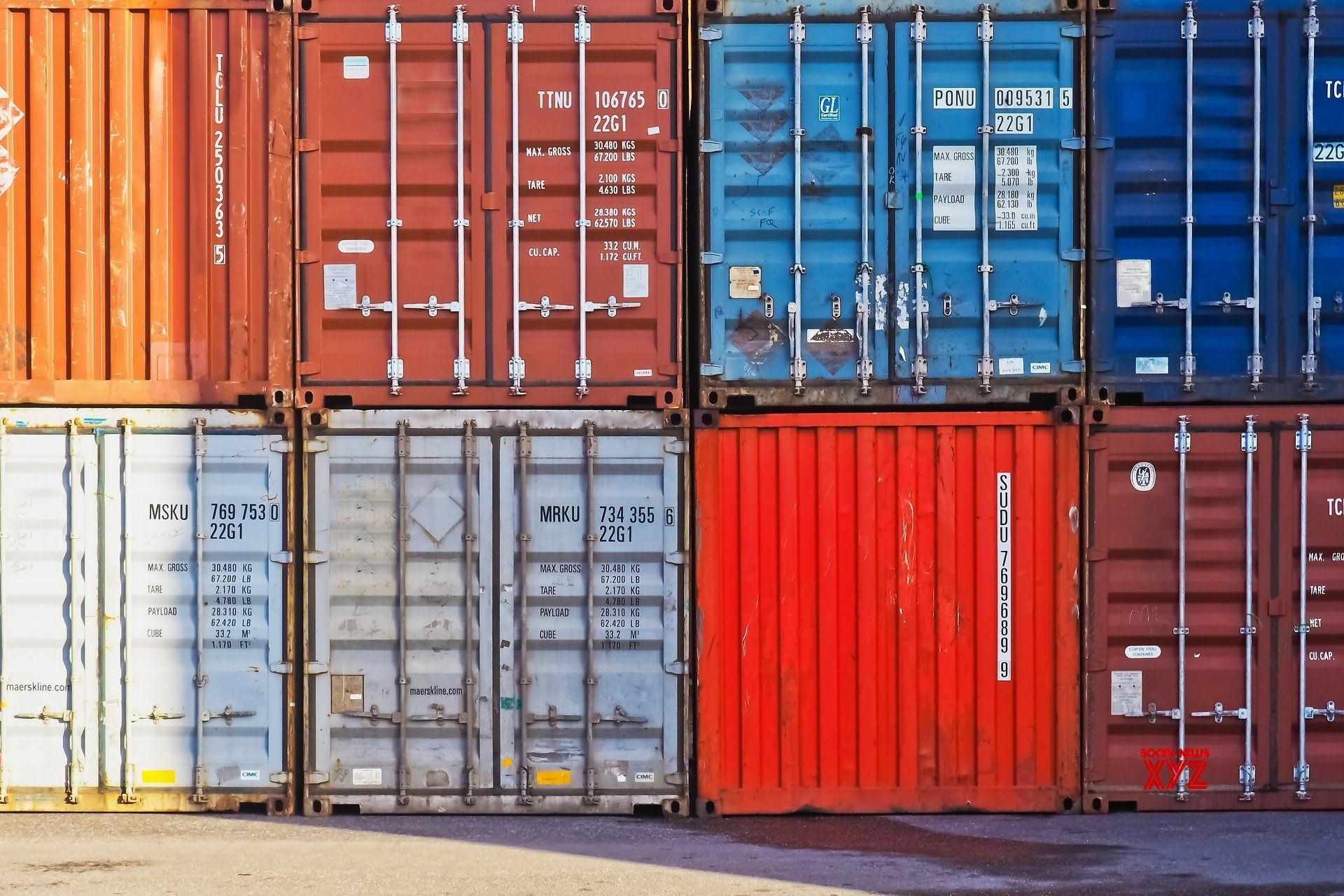 India S July Merchandise Exports Rise 2 25 Social News Xyz Shipping Container Storage Unit Storage