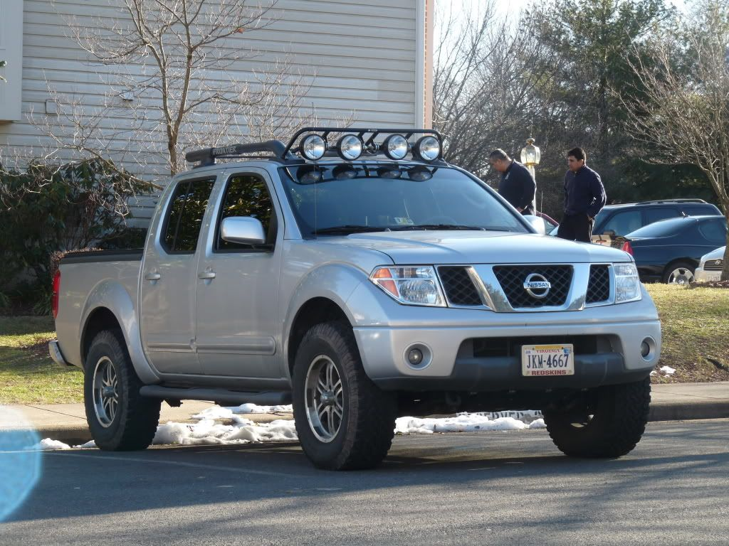 Truck Roof Rack Except I Want 4 Sides Lights They Need To Sit Below Nissan Frontier