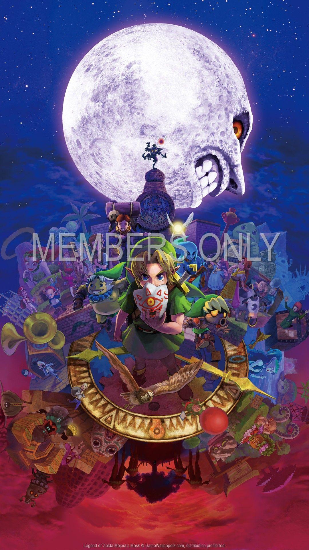 Legend Of Zelda Majora S Mask 1920x1080 Mobile Wallpaper Or
