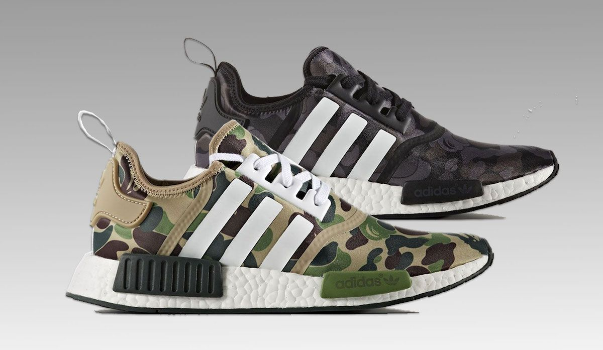 adidas NMD x Bape Coming Up In November #adidas Photos: Courtesy Of The  Brand