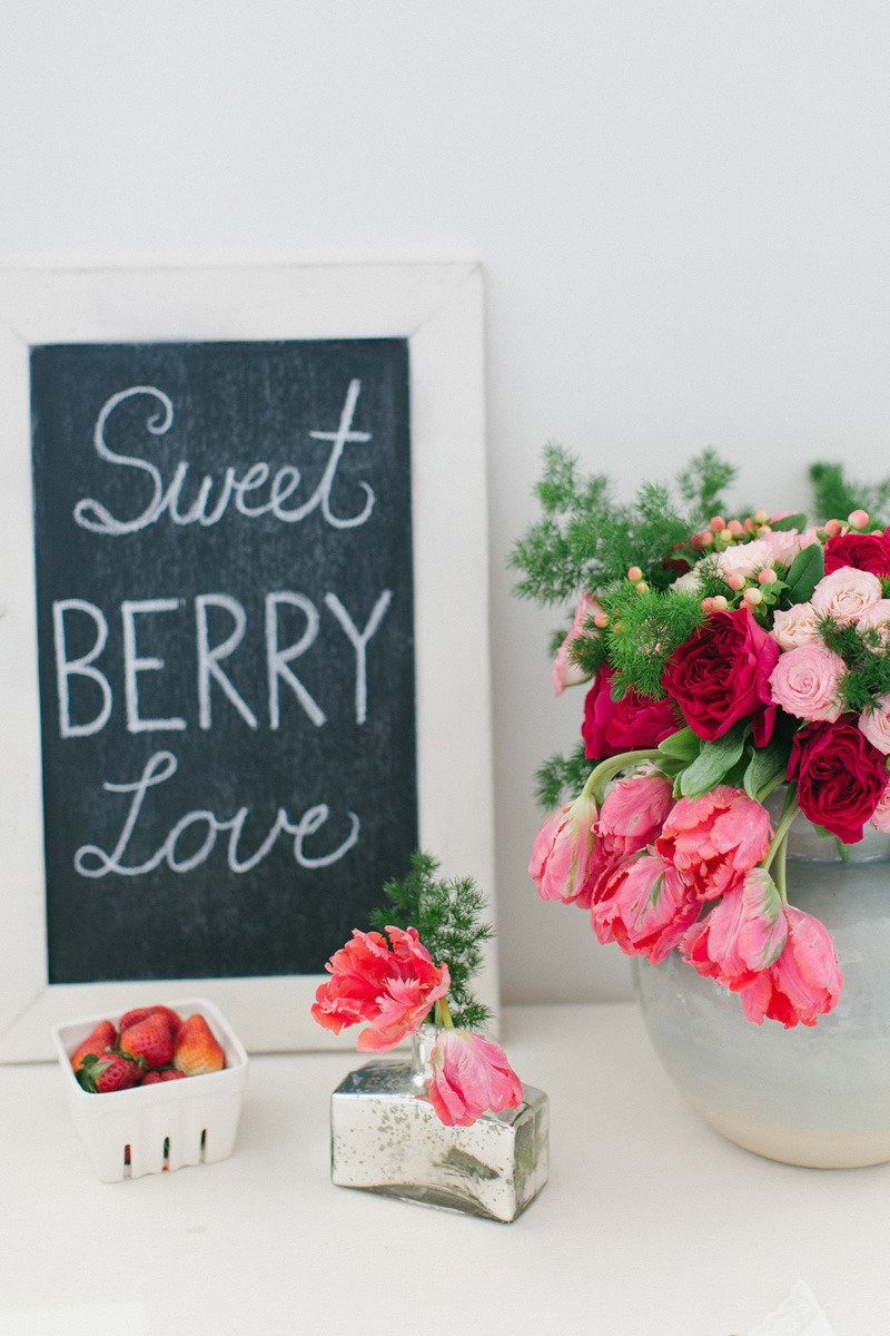 #signs  Photography + Design: Ruth Eileen Photography - rutheileenphotography.com Floral Design: Poppy Love Weddings - poppyloveweddings.com  Read More: http://stylemepretty.com/2013/07/05/berry-inspired-photo-shoot-from-ruth-eileen-photography/