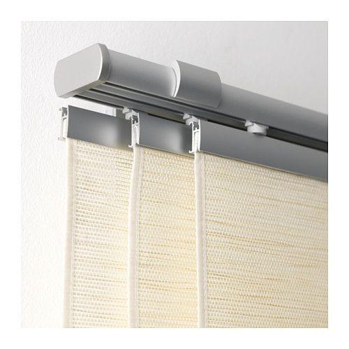 KVARTAL Laufleiste und Beschwerung, aluminiumfarben (600 - inspirierende faltrollos und faltgardinen besseren stil zuhause